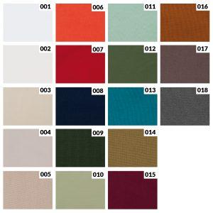 Tkanina dekoracyjna COTTON-kolory